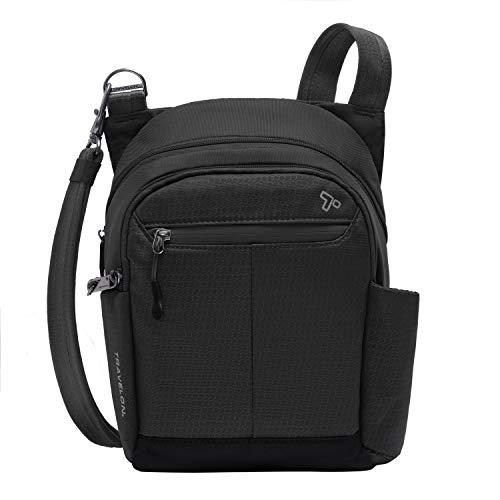 Travelon Anti-Theft Active Tour Bag, Black, One Size