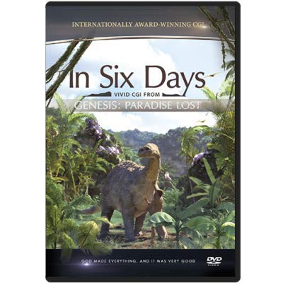 In Six Days DVD (CGI from GENESIS: Paradise Lost)
