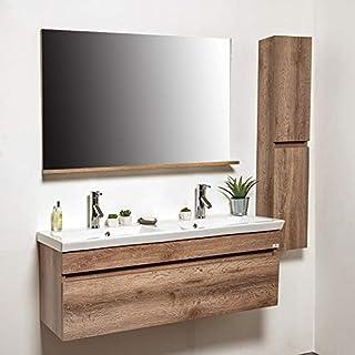 Amazon.fr : meuble de salle de bain double vasque 120 cm