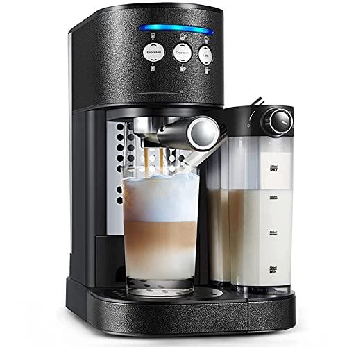 Ekspres do kawy Półautomatyczny wielofunkcyjny ekspres do kawy Ekspres do spieniania mleka Mały domowy ekspres do kawy na kapsułki
