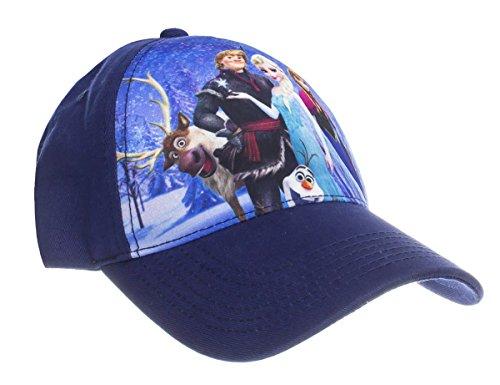 Disney Frozen Cast Sublimation Youth Adjustable Baseball Cap