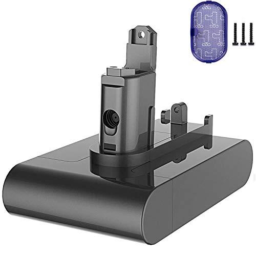 Flylinktech Replacement Dyson Batterie DC34 Type B 22.2V 3000mAh LI-ION Batterie pour Dyson DC45 DC34 Aspirateur Main Batterie DC43H DC35 DC31 DC44 17083-04 917083-01 17083-2811 18172-01-04 (PAS Type A)