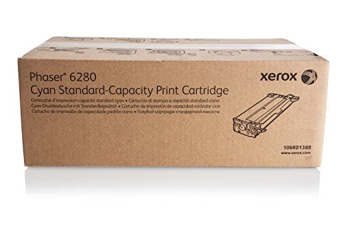 Xerox Part# 106R01388. 106R01389. 106R01390. 106R01391 Phaser 6280 Standard Yield Toner Set