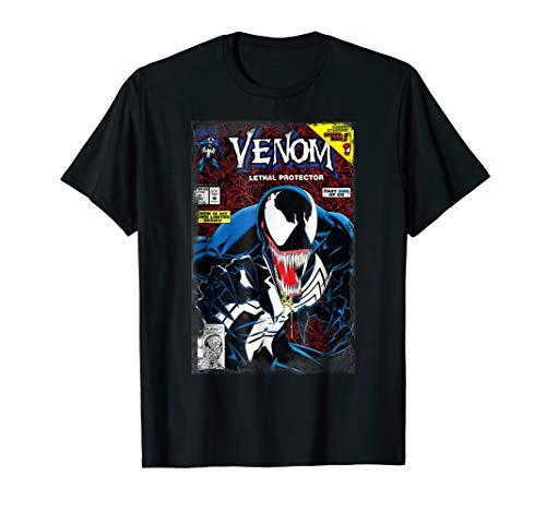 Marvel Venom Vintage Comic Book Cover T-Shirt