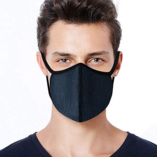 Anti Dust Face Mouth Mask Reusable Washable Mesh Half Face Maks for Dust Smoke Pollen Pollution with Activated Carbon Filter Men Women
