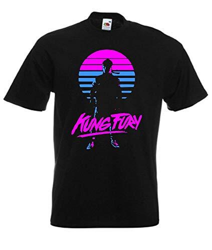 Kung Fury Retro Style Movie T Shirt