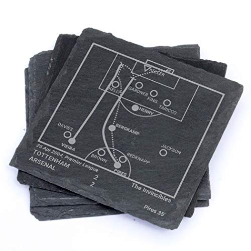 Greatest Arsenal Plays - Slate Coasters (Set of 4)