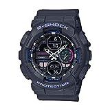 Casio Analog-Digital Black Dial Women's Watch-GMA-S140-8ADR (G985)