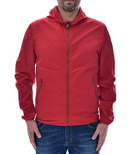Colmar jas voor heren rood bomber nylon licht