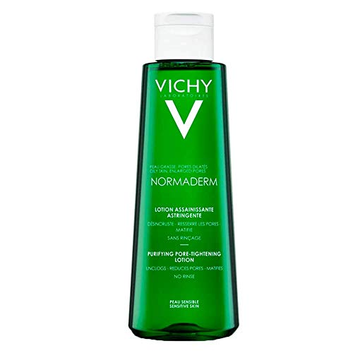 Vichy Normaderm - tratamientos para machas y acné (Piel grasosa, Anti-acne, Anti-shine, Suavizar, Soothing, Botella, Apply morning or evening with a cotton pad on cleansed skin.)