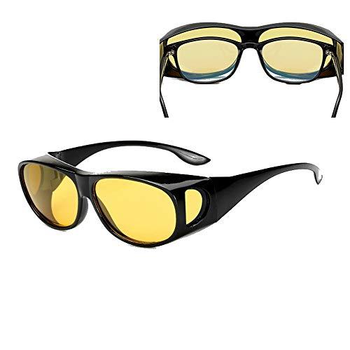 LIUXING Sicherheits-Fahrradbrille Porno-Set kann den Spiegel zusammenbringen, um Myopie-Sonnenbrillen zu sehen, die Outdoor-Sportbrillen-Sonnenbrillen Männer und Frauen Radfahren