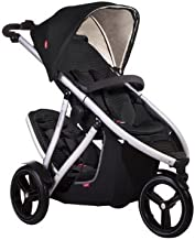 Phil and Teds Vibe V3 Stroller With Doubles Kit (Black)