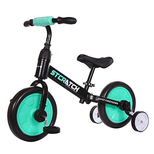 LINQ Bicicletas para niños: Bicicletas, Marcos de aleación de magnesio, Bicicletas ultrarrápidas, Regalos para niños, Verde (Color : Green)