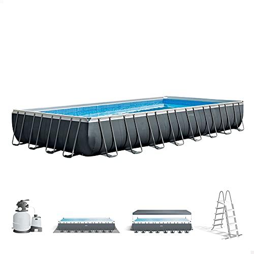 Intex 26374NP - Piscina desmontable ultra xtr frame intex 975x488x132 cm con depuradora