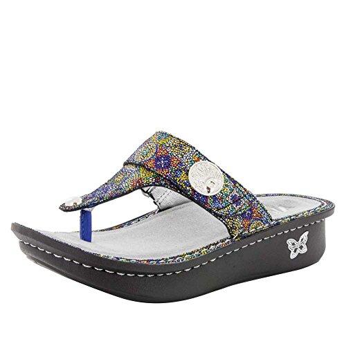Alegria Carina Womens Sandal Aztec Dottie 8 M US