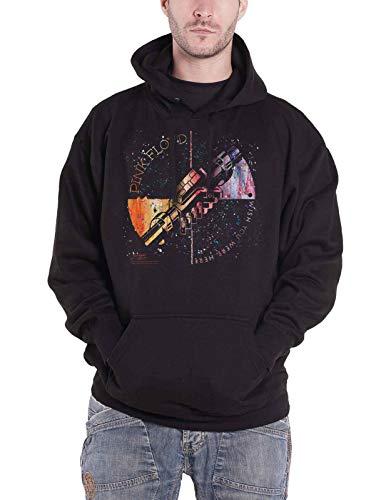 Pink Floyd Kapuzenpullover Wish You were Here Machine Orange offiziell Herren