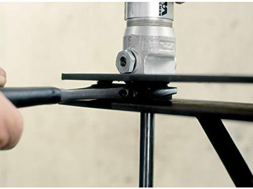 Bahco 9071 Llave Ajustable 9071, Llave Ajustable, Acero, Negro, Gris, 20,8 cm, 12,9 mm, 272 g