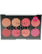 Technic Color Fix Blush Palette, 3,5g, Paquete de 8