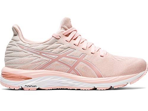 ASICS Gel-Cumulus 21 - Scarpe da corsa in maglia da donna, rosa (Breeze/bianco.), 41.5 EU