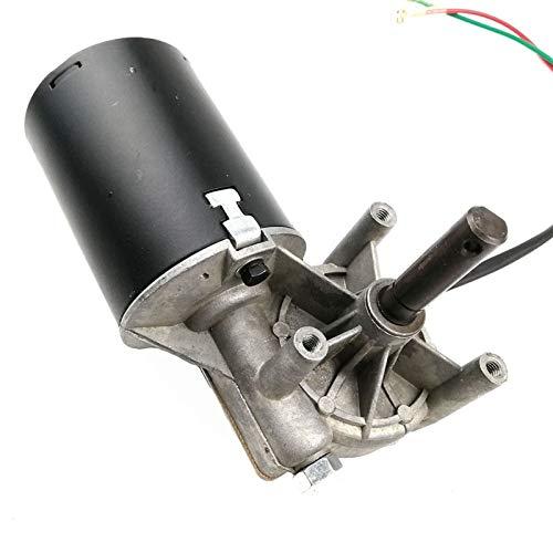 LCuiling-Getriebemotor GW7085 DC 24V 8N.M 4A Niedriger Drehmoment mit hohem Drehmoment Wurm Getriebe Reduziermotor, Wischer, Grillmotor, links, Hohe Energie ( Speed(RPM) : 90RPM , Voltage(V) : 24V )