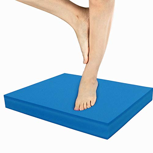 IADUMO Balance Board - Gym Exercise Mats Cushioned Knee Pads for Core...