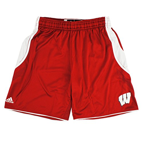 adidas Wisconsin Badgers NCAA Women's Red Climachill Shorts (MT)