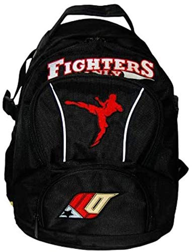 Fighters Only - Sports Gym Workout Backpack - MMA UFC Specialists - Black