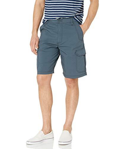Lee Uniforms Extreme Motion Crossroad Cargo Short Pantaloni, Ardesia, 58 Uomo