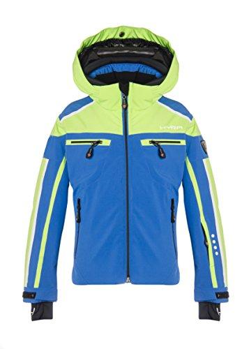 Hyra Buffalo Veste de Ski Enfant, bébé, Buffalo, Blu/Lime Green