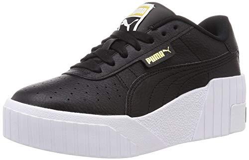 Puma Cali Wedge WN S, Zapatillas Mujer, Negro Black White, 36 EU