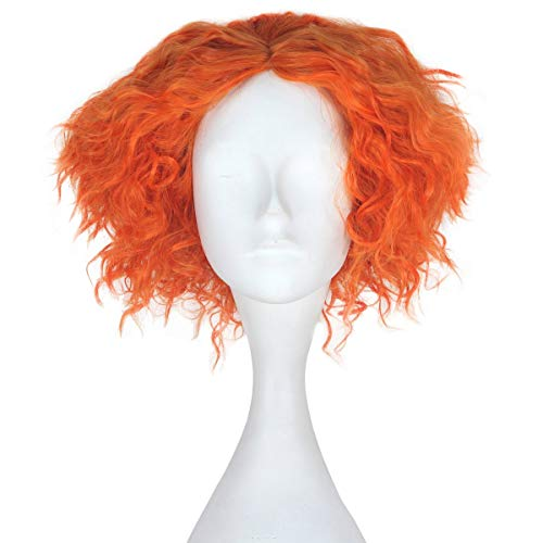 comprar pelucas naranjas cortas en línea