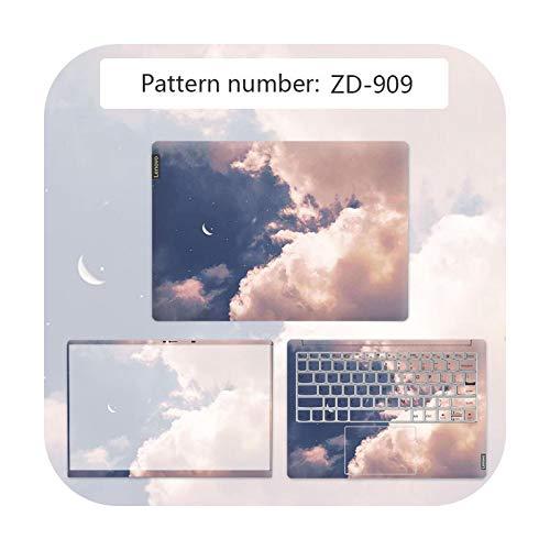 Cubierta para ordenador portátil con diseño de paisaje impermeable para Lenovo G40 80/Flex 3 1570/YOGA 710/Ideapad 330C etc. Película antiarañazos ZD-909-YOGA 710 14 ISK