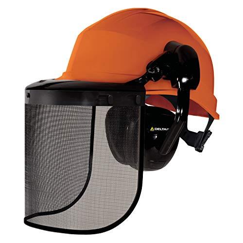 Delta Plus Forestier 3 kettingzaag veiligheidskit helm mesh vizier oor verdedigers PPE