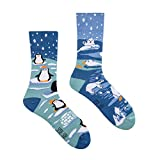 Spox Sox Casual Unisex - mehrfarbige, bunte Socken für Individualisten, Gr. 44-46, Winter