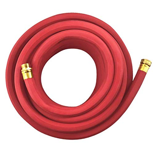 Flexon FAR3450 3/4-Inch x 50-Foot Heavy Duty Premium Farm & Ranch Rubber Garden Hose