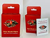 Wine Mouth Wipes- All Natural- Oral Wipe