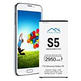 Galaxy S5 Battery 2950mAh with NFC, Capacity Replacement Galaxy S5 Battery, Not For