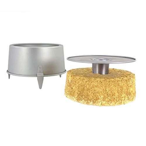 PME - Teglia da Forno in Alluminio per Torta Angel Cake, Diametro 20 cm