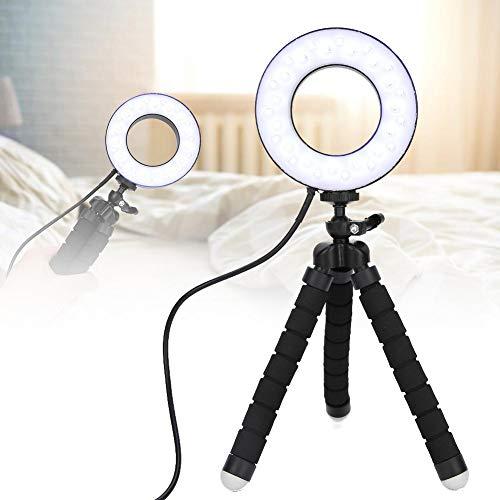 Draagbare ronde uv-lamp, gereinigde uv-buislamp met houder, mijtdicht voor keuken, badkamer, beddengoed, kleding, toilet, bed voor huisdieren