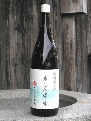 たつ乃屋本店 訳あり 米しろ醤油 一升瓶(1800ml)