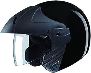 Studds Ninja Concept Economy SUS_NIAECOOFH_BLKXL Open Face Helmet (Black, XL)