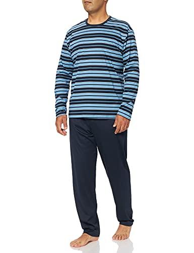 Calida Herren Relax Streamline 1 Pyjamaset, Dark Sapphire, XL