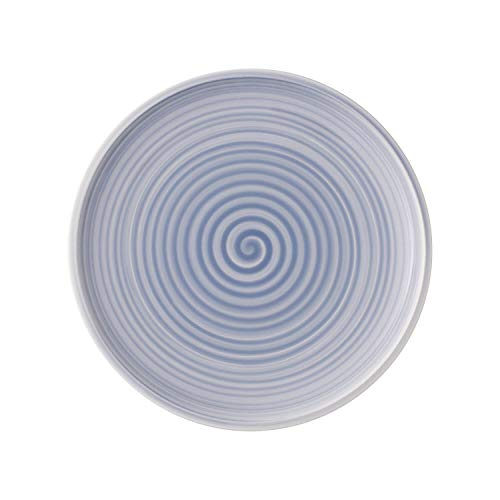 Villeroy & Boch Artesano Nature Bleu Speiseteller, 27 cm, Premium Porzellan, Blau