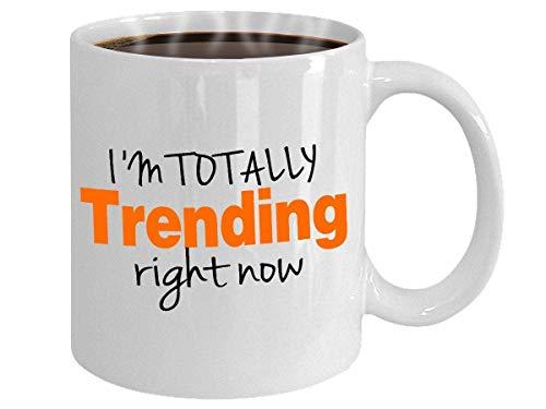 Social Media Geschenk personalisierte Tasse Neuheit Kaffeetasse Blogger Tasse Instagram Facebook Tasse Youtuber Hashtag Twitter Tasse 11 Unzen