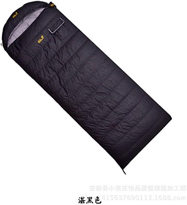 Xinsushp Home Frühling und Herbst Erwachsenen dünnen Daunenschlafsack Outdoor Camping Schlafsack 1000 Gramm Samt Camping Outdoor-Schlafsack (Größe   D)