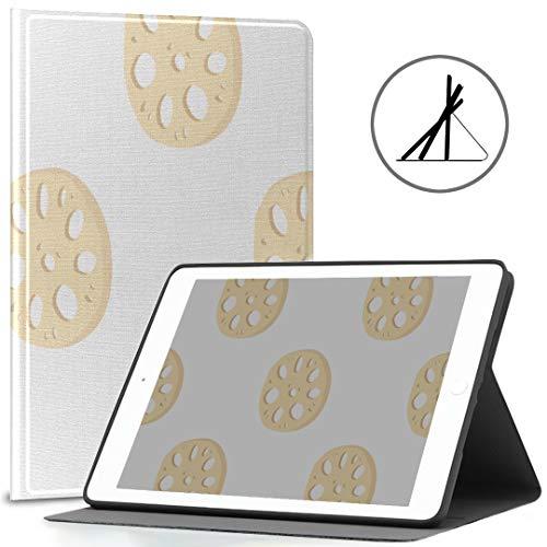 Funda para iPad 9.7 Lotus Root lindo agujero pequeño ajuste 2018/2017 iPad 5ª/6ª generación Ipad 9.7 caso cubierta también ajuste iPad aire 2/ipad aire auto despertar/sueño