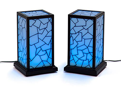 Set of 2 Love Lamps