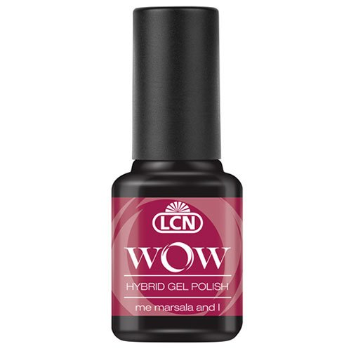 LCN WOW Hybrid Gel Polish - WOW 18 me, marsala and I