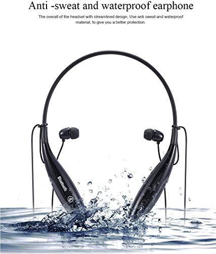 Techfire HBS 730 Wireless Neckband Bluetooth Earphone