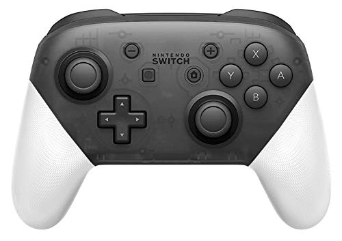 DIY Replacement Grip Shell for Nintendo Switch Pro Controller, Colorful Anti-Slip Hand Grip Shell Cover for Nintendo Switch Pro Controller with a Screwdriver (White)